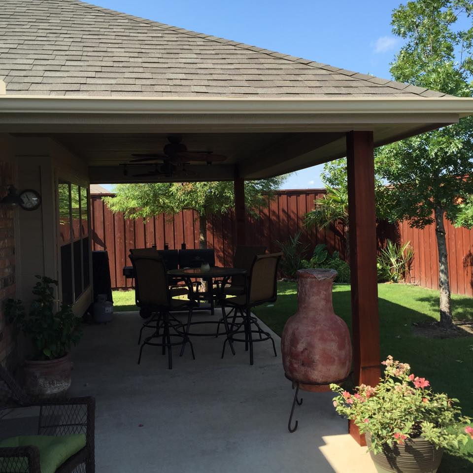 Covered Patio In Crandall, TX   By Firehouse Decks